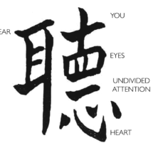To Listen in Chinese copy